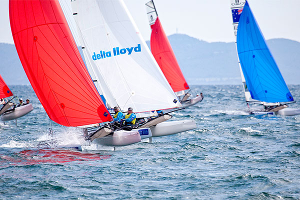 La derni�re journ�e de la Sailing World Cup Hy�res diffus�e sur Sport +