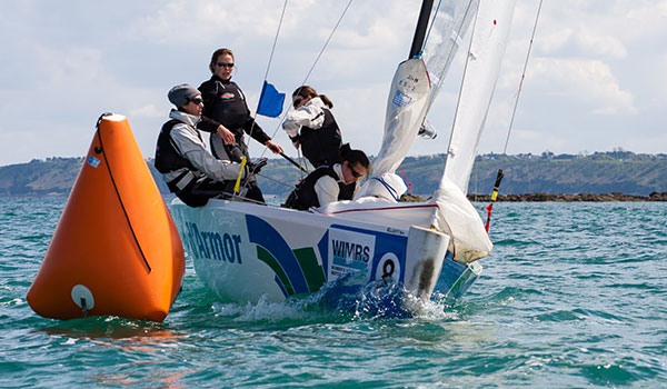 Championnat de France Elite Match Racing F�minin : Julie Bossard s�incline face � Lucy Macgregor