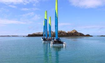 Photo du Offre de Stage de Catamaran 1 journée, le 21 août 2021 - Randonnée Granville-Chausey proposé par CENTRE REGIONAL DE NAUTISME DE GRANVILLE affilié à la Fédération Française de Voile