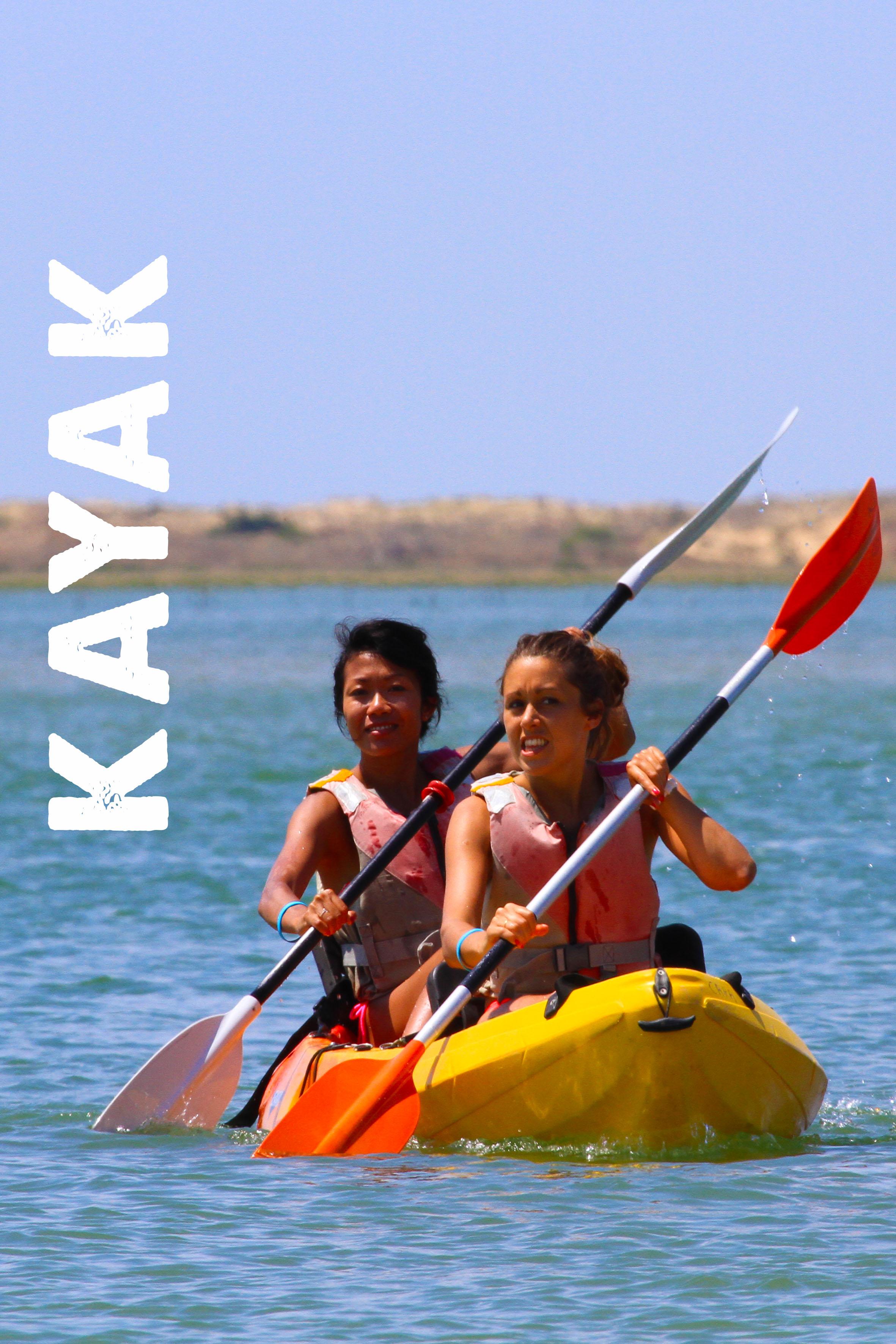 Photo du Offre de Stage d'Autres Supports 1er mai 2021 - Location kayak proposé par BASE NAUTIQUE LA PALMYRE affilié à la Fédération Française de Voile