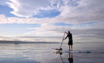 Photo du Offre de Stage de Stand Up Paddle 54 jours, du 5 juillet au 27 août 2021 - Initiation Paddle proposé par CENTRE REGIONAL DE NAUTISME DE GRANVILLE affilié à la Fédération Française de Voile