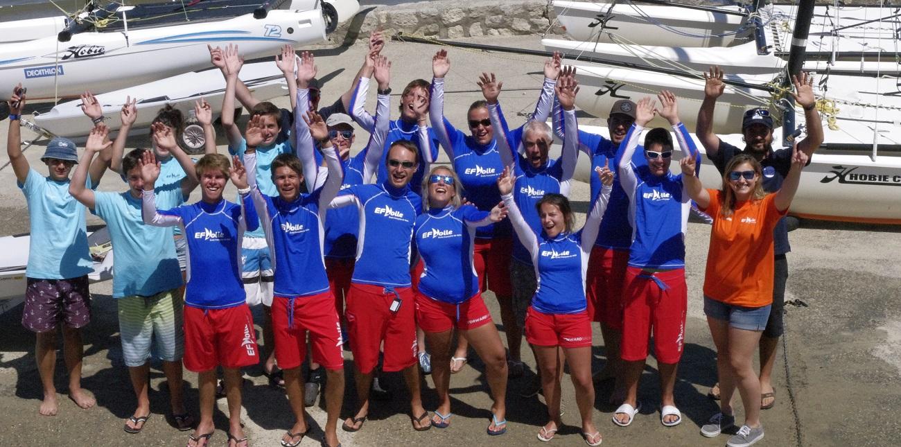 Photo du Offre de Stage de Catamaran 140 jours, du 3 mai au 19 septembre 2021 - Stage catamaran proposé par UNION NAUTIQUE CORPORATIVE ANNECY LE VX affilié à la Fédération Française de Voile