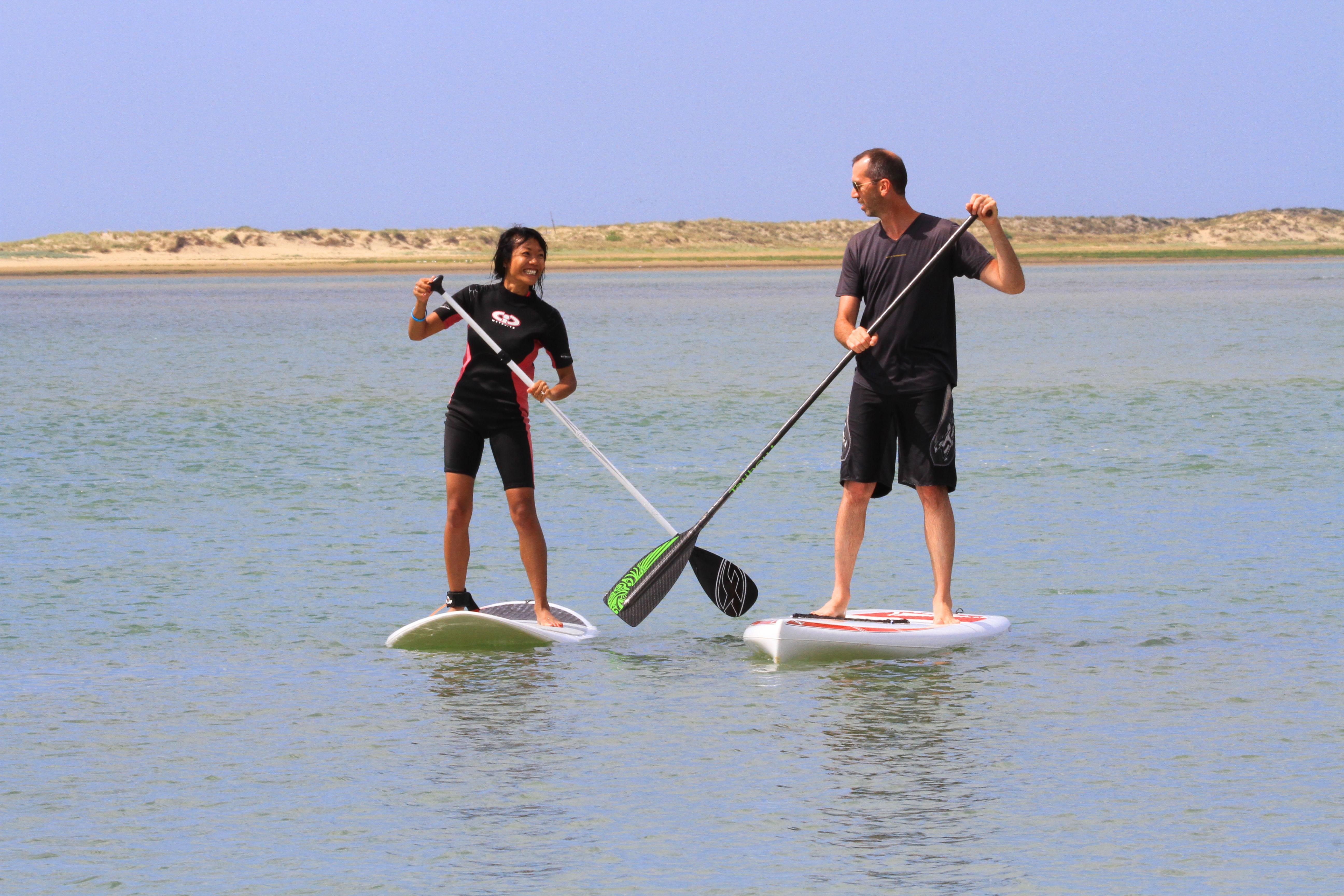 Location stand up paddle Stand Up Paddle par le Club B N La PALMYRE affilié à la Fédération Française de Voile