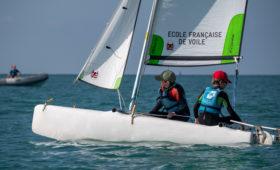 Photo du Offre de Stage de Catamaran 54 jours, du 5 juillet au 27 août 2021 - Stages Catamaran KL 10.5 proposé par CENTRE REGIONAL DE NAUTISME DE GRANVILLE affilié à la Fédération Française de Voile