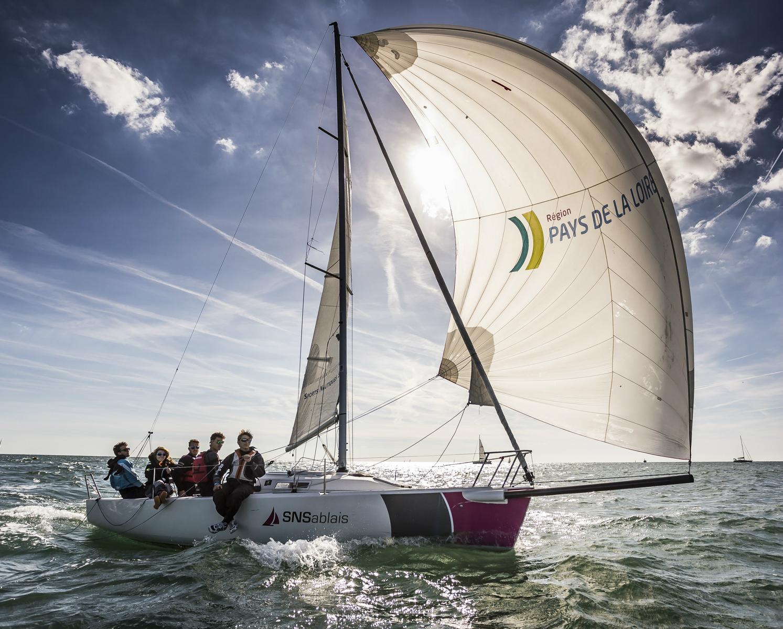 Photo du Offre de Stage d'Habitable 1er janvier 2021 - Baptême en mer 1/2 journée sur voilier proposé par SPORTS NAUTIQUES SABLAIS affilié à la Fédération Française de Voile