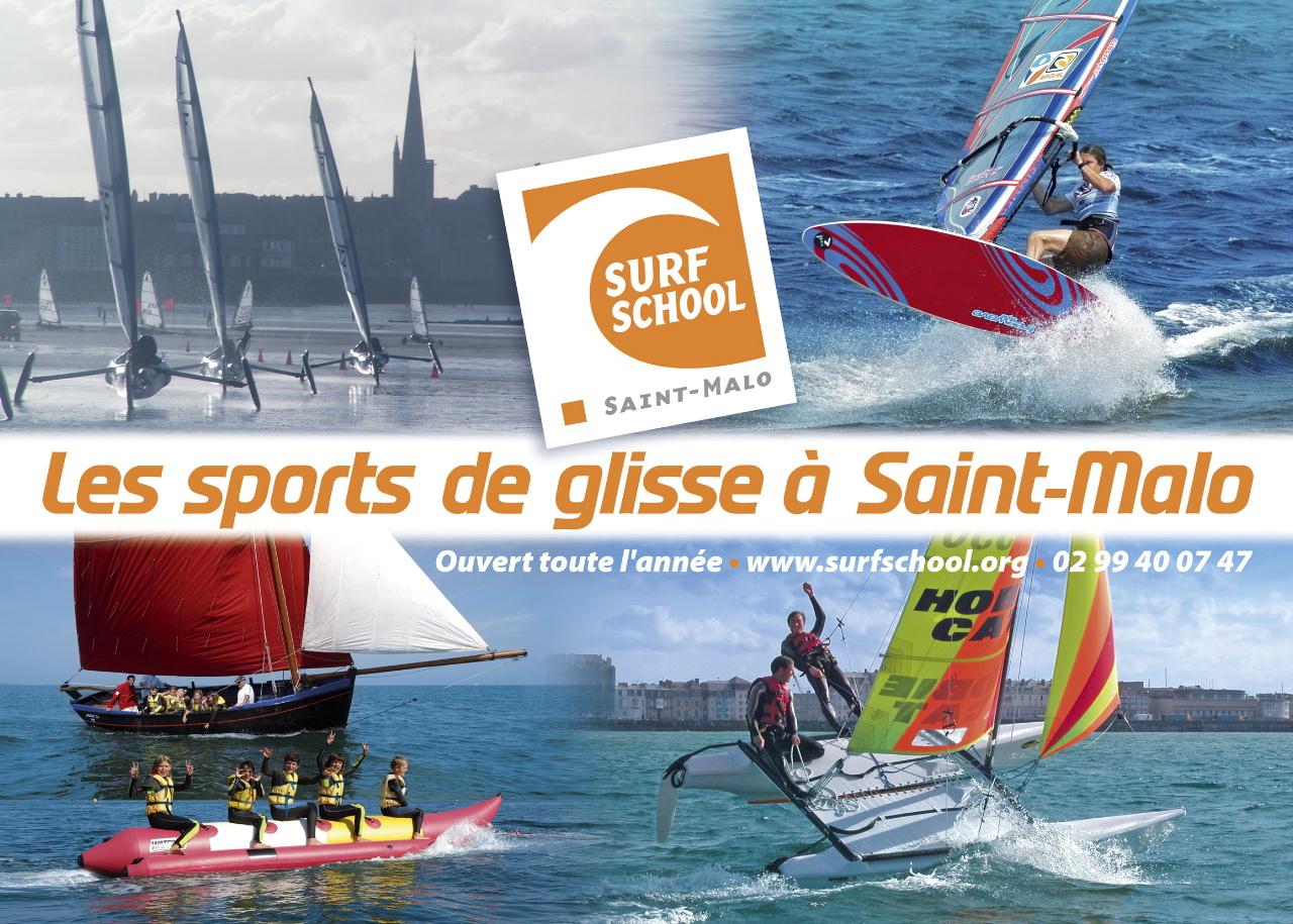 Photo du Club affilié à la Fédération Française de Voile SURF SCH  ST MALO